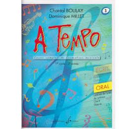 Boulay/Millet. A tempo. vol 3 oral