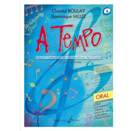 Boulay/Millet. A tempo. vol 6 oral
