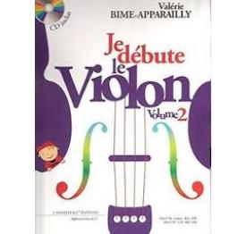BIME - APPARAILLY Je débute le violon 2