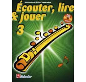 ECOUTER. LIRE ET JOUER FLUTE TRAVERSIERE 3