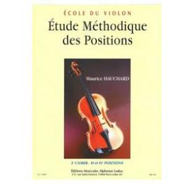 Hauchard - Etude des positions 2e cahier