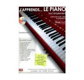 ASTIE - j'apprends le piano... VOL 1