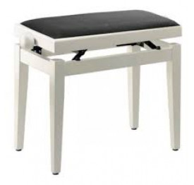 Banquette piano - Blanc mat