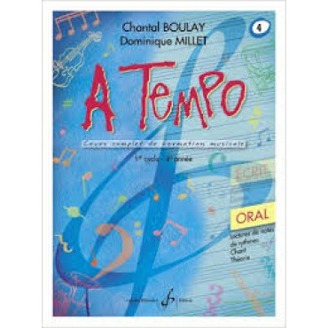 Boulay/Millet. A tempo. vol 4 oral