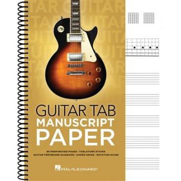 Cahier de musique  - Spécial tablature