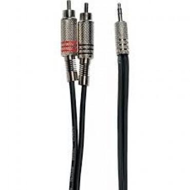 CABLE 2 RCA/Mini jack 3 m