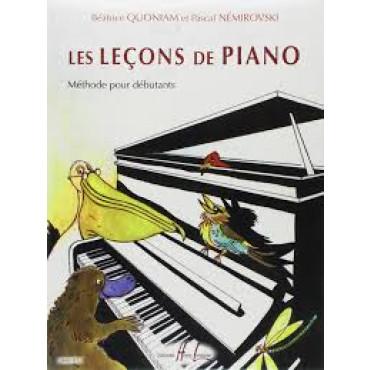 LES LECONS DE PIANO