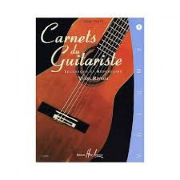 RIVOAL Les carnets du guitariste 1