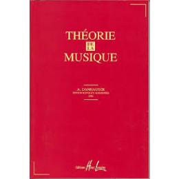 THEORIE DE LA MUSIQUE - DANHAUSER