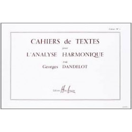 Dandelot - Cahiers d'analyse harmonique - Vol 1