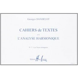 Dandelot - Cahiers d'analyse harmonique - Vol 2