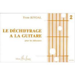 RIVOAL - Déchiffrage à la guitare 2