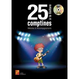 25 Comptines à la guitare