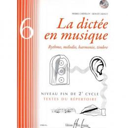 La Dictée en musique - Vol 6 - Chépélov/Menut