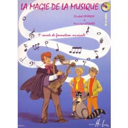 LAMARQUE/GOUDARD - La magie de la musique - Vol 1