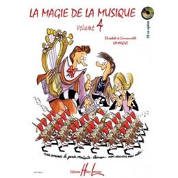LAMARQUE/GOUDARD - La magie de la musique - Vol 4