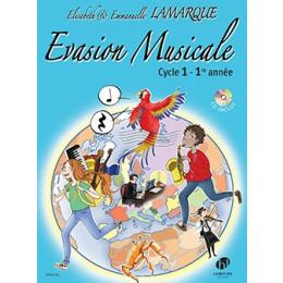 Lamarque - EVASION MUSICALE - Cycle 1- 1re année