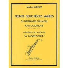MERIOT - 32 pièces variées - Saxo
