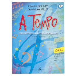 Boulay/Millet. A tempo. vol 2 oral