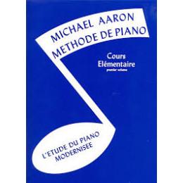 Méthode de piano AARON Vol 1