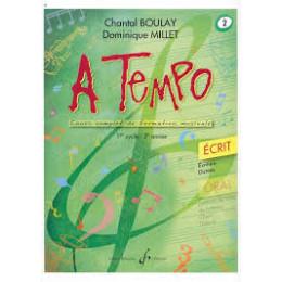 Boulay/Millet. A tempo. vol 2 écrit