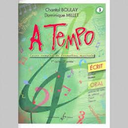 Boulay/Millet. A tempo. vol 3 écrit