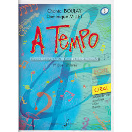 Boulay/Millet. A tempo. vol 3 oral