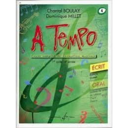 Boulay/Millet. A tempo. vol 4 écrit