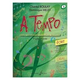 Boulay/Millet. A tempo. vol 5 écrit