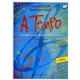 Boulay/Millet. A tempo. vol 5 oral