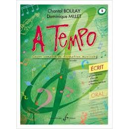 Boulay/Millet. A tempo. vol 6 écrit