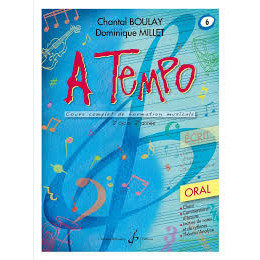 Boulay/Millet. A tempo. vol 6 oral