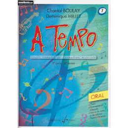 Boulay/Millet. A tempo. vol 7 oral