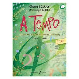 Boulay/Millet. A tempo. vol1 écrit