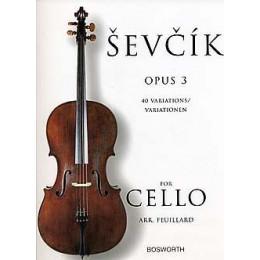 SEVCIK - 40 Variations - Op 3 - Cello
