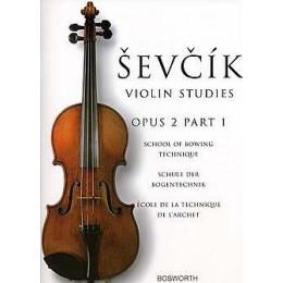 SEVCIK - Violin studies- opus 2 part 1