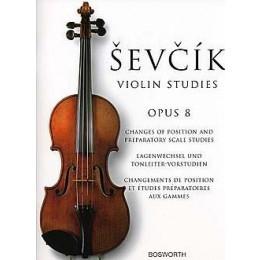 SEVCIK - Violin studies- opus 8