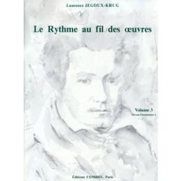 Le Rythme au fil des oeuvres - Vol 3 - de JEGOUX-KRUG