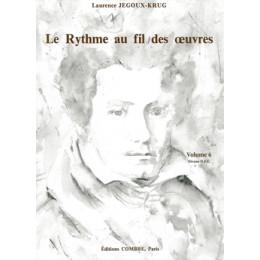 Le Rythme au fil des oeuvres - Vol 6 - de JEGOUX-KRUG