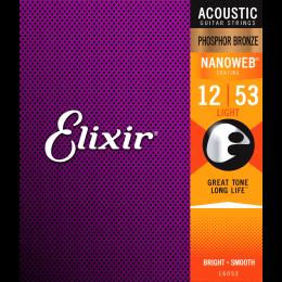 ELIXIR - Cordes folk - 12/53 - Phosphor Bronze