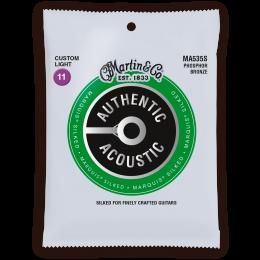 MARTIN - Custom light - 11/52 - Phosphore bronze