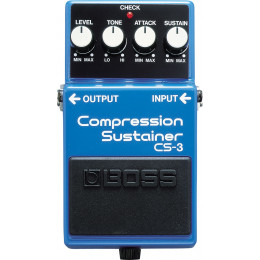 BOSS - CS 3 - COMPRESSION / SUSTAINER