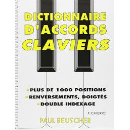Dictionnaire d'accords claviers