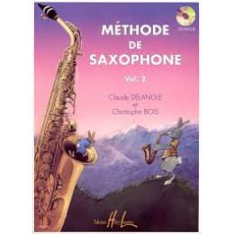 Méthode de Saxophone Delangle et bois Vol 2