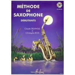 Méthode de Saxophone Delangle et bois