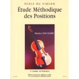 Hauchard - Etude des positions 1er cahier