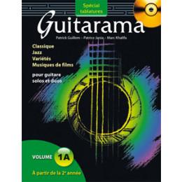 GUITARAMA - 1A - Tablatures