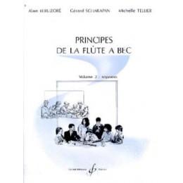 principes de la flûte à bec