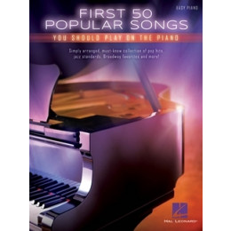 FIRST 50 POPULAR SONGS - Piano facile