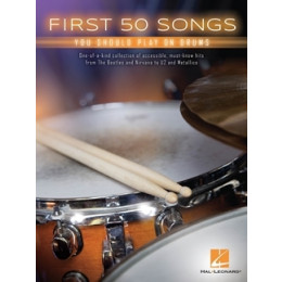 FIRST 50 SONGS - Batterie